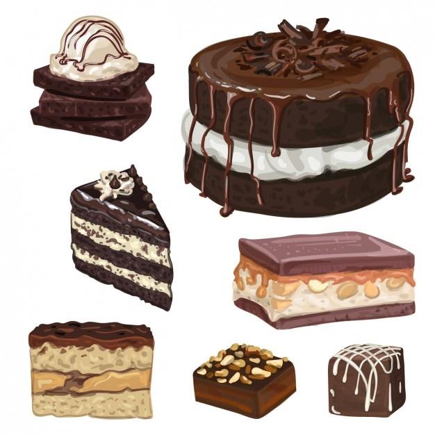 Sweet desserts design