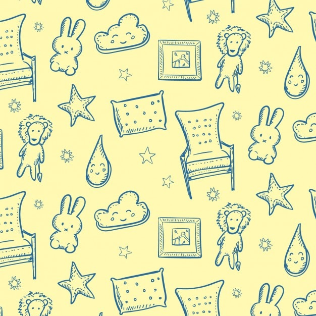 Sweet Dreams Background Free Vector