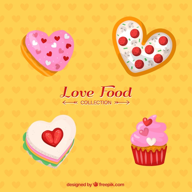Sweet food collection