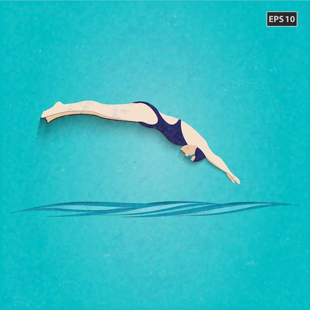 Swimming Pool Background swimming pool background vector | free download