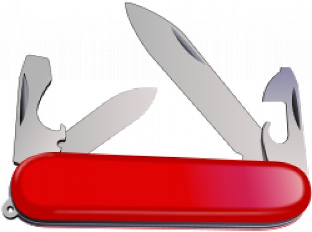 Swiss Army Knife Vector Free Download
