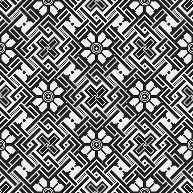 symmetrical pattern background free vector
