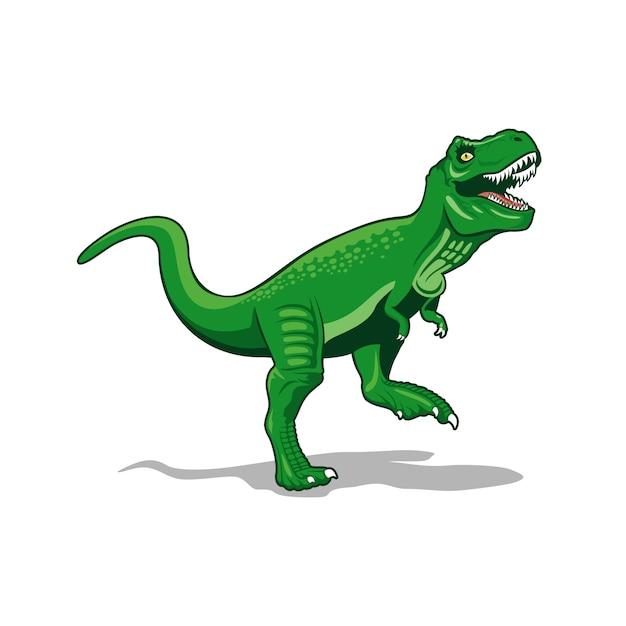 Tレックスモンスター恐竜ベクトル Premiumベクター