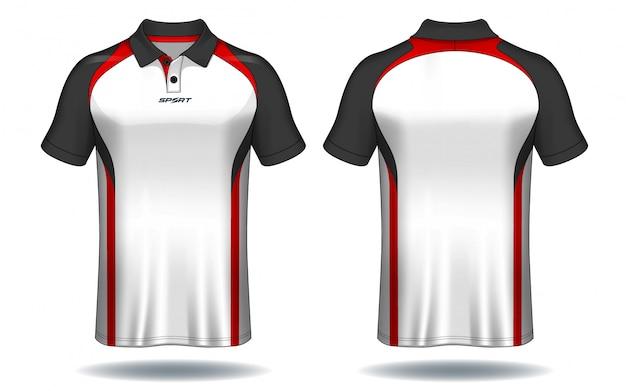 Premium Vector T Shirt Polo Design Sport Jersey Template