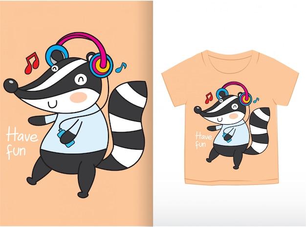T shirt template Premium Vector
