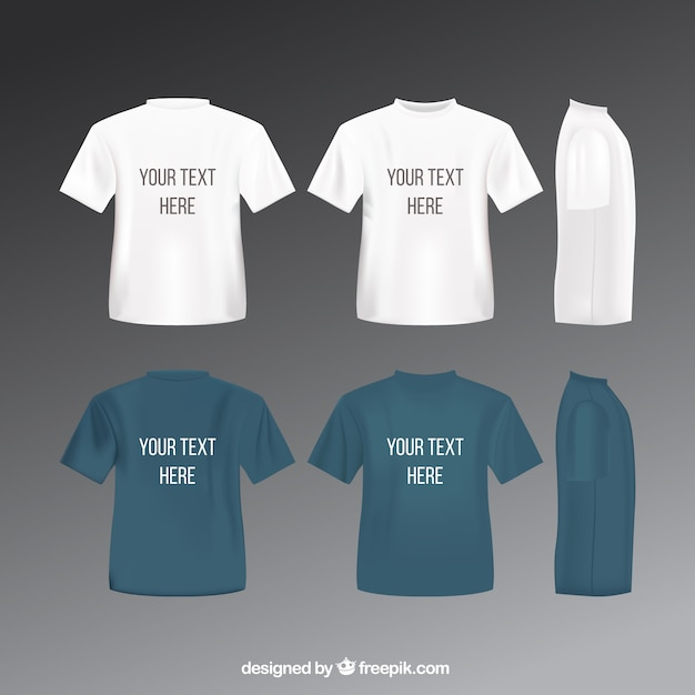 T Shirts Template Vector  Free Download