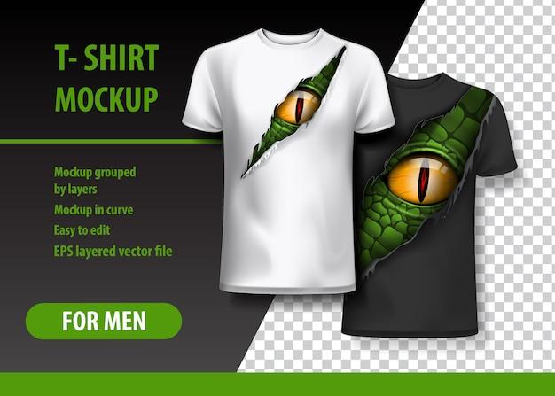 Tシャツテンプレート、完全に編集可能 Premiumベクター