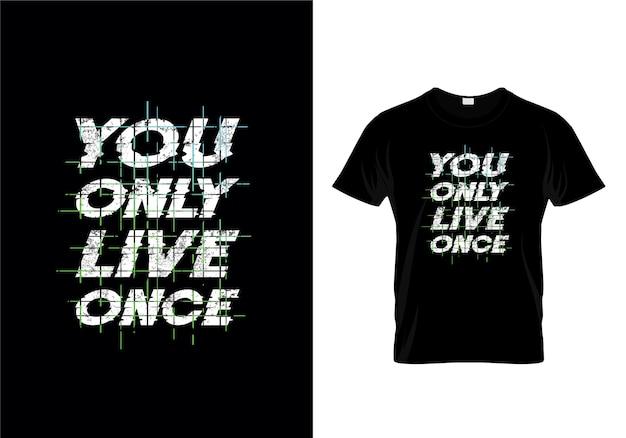 タイポグラフィtシャツデザイン Premiumベクター