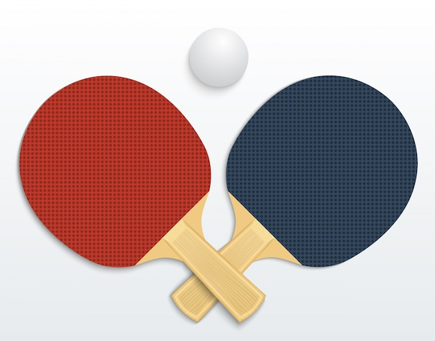 Table tennis Free Vector
