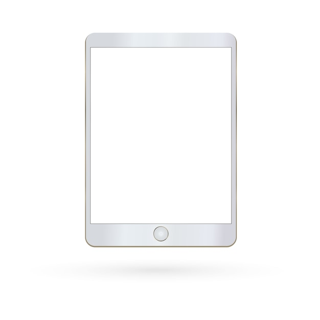 Tablet isolated Premium Vector