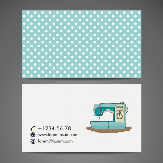 Tailor business card design vector free download tailor business card design free vector reheart