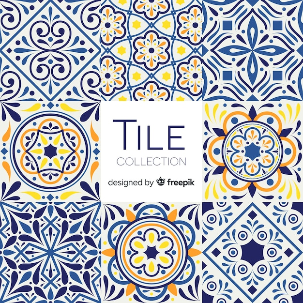 talavera tile pack vector free download