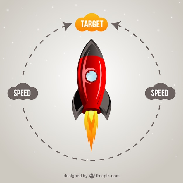 Target concept Free Vector