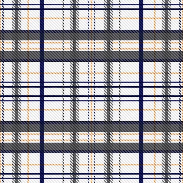 Tartan pattern seamless fabric background. checkered texture plaid pattern. Premium Vector
