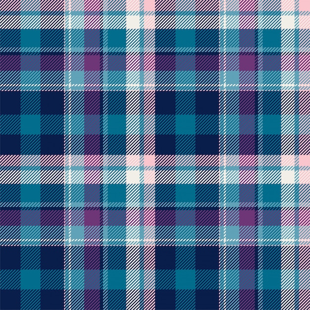 Tartan scotland seamless plaid pattern background Premium Vector