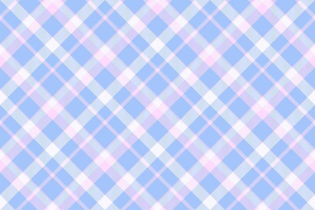 タータンスコットランドシームレスな格子縞のパターン。レトロな背景の生地。幾何学的なヴィンテージの正方形。 Premiumベクター