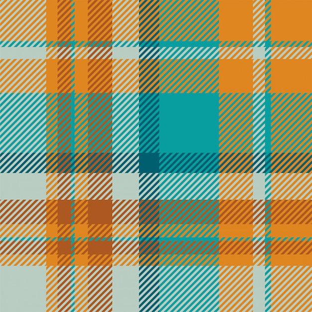 Тартан шотландия бесшовные плед шаблон вектор. ретро фон ткани. винтаж проверить цвет квадрат геометрические текстуры. Premium векторы