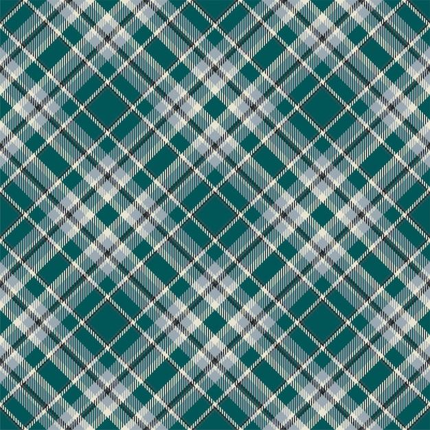 Тартан шотландия бесшовные плед. винтаж проверить цвет квадрат геометрические текстуры. Premium векторы