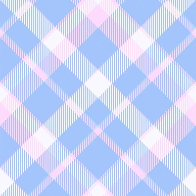 タータンスコットランドのシームレスな格子縞のパターン。ビンテージチェック色の正方形の幾何学的なテクスチャー。 Premiumベクター