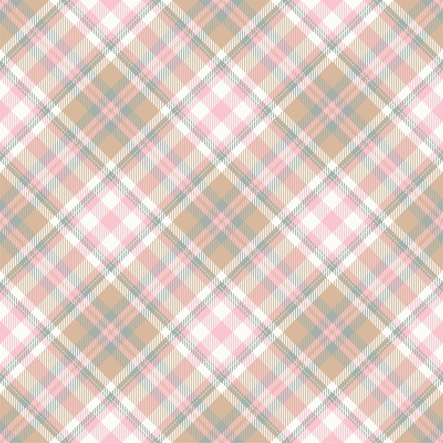 Tartan scotland seamless plaid pattern Premium Vector