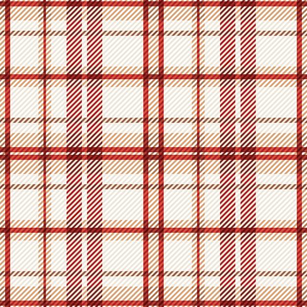 Tartan seamless pattern fabric background. Premium Vector