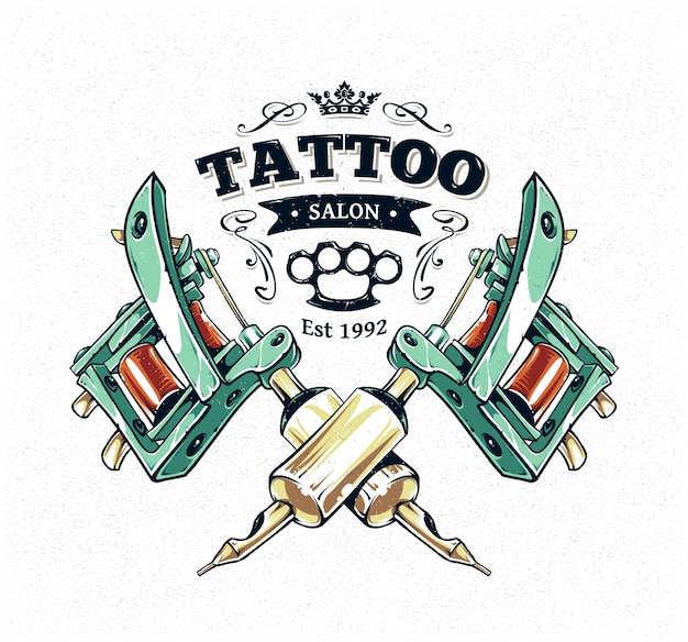 Tattoo design Free Vector