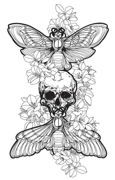 Tattoo Premium Vector