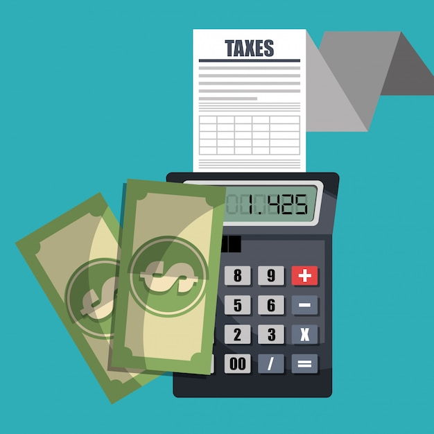 Tax time Free Vector