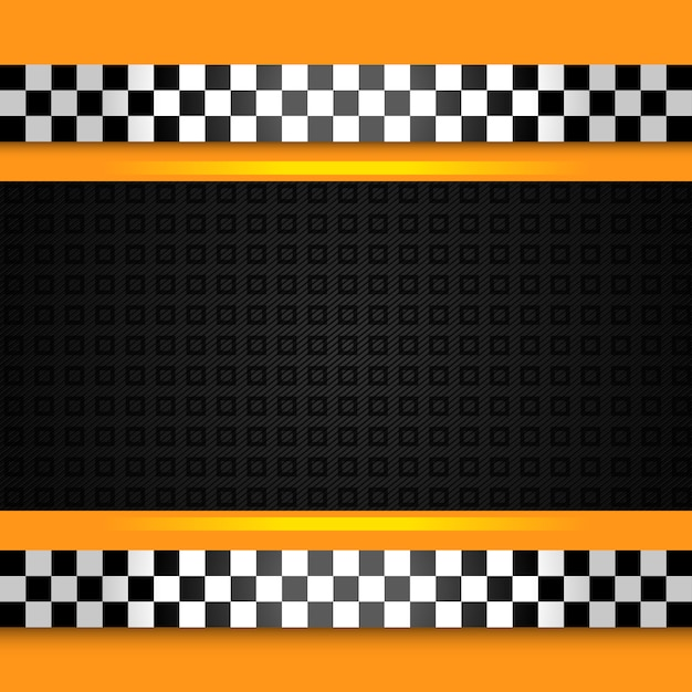 Taxi cab background close up Premium Vector