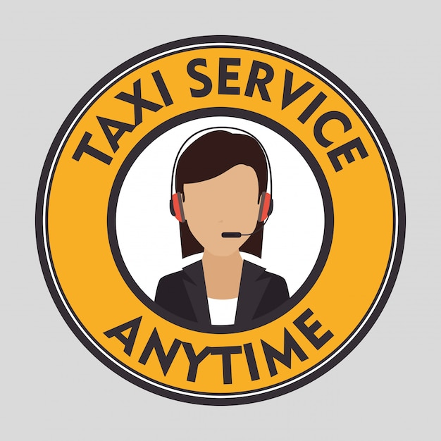 Taxi customer service Free Vector