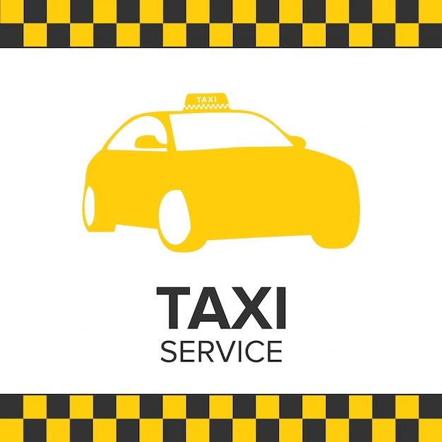 Taxi logo template Free Vector