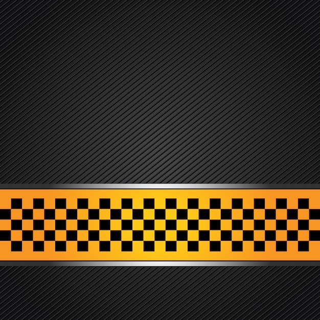 Taxi template background Premium Vector