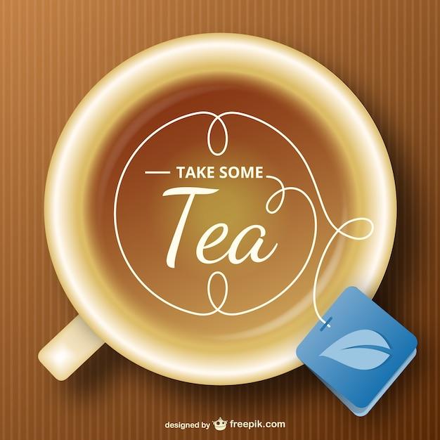 tea cup vector free download