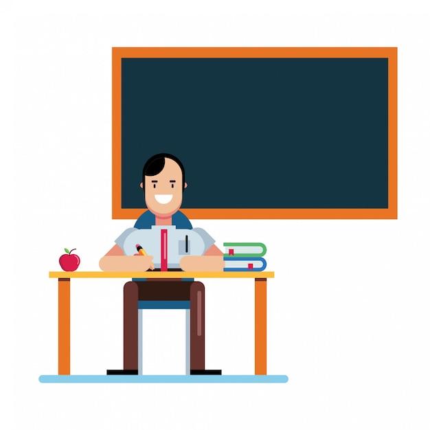 День учителя Premium векторы
