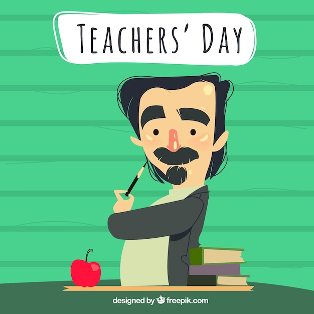 Teacher\'s day, bohemian teacher