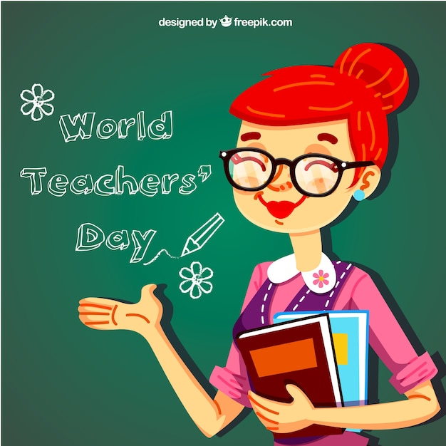 Teacher\'s day, sympathetic teacher