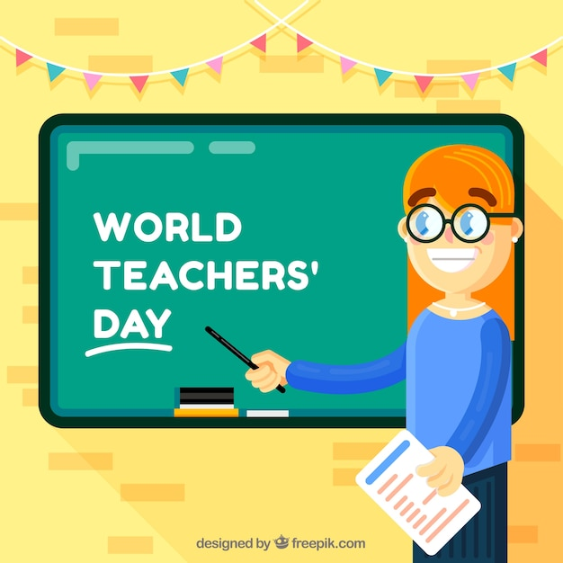 Teacher\'s day, young teacher