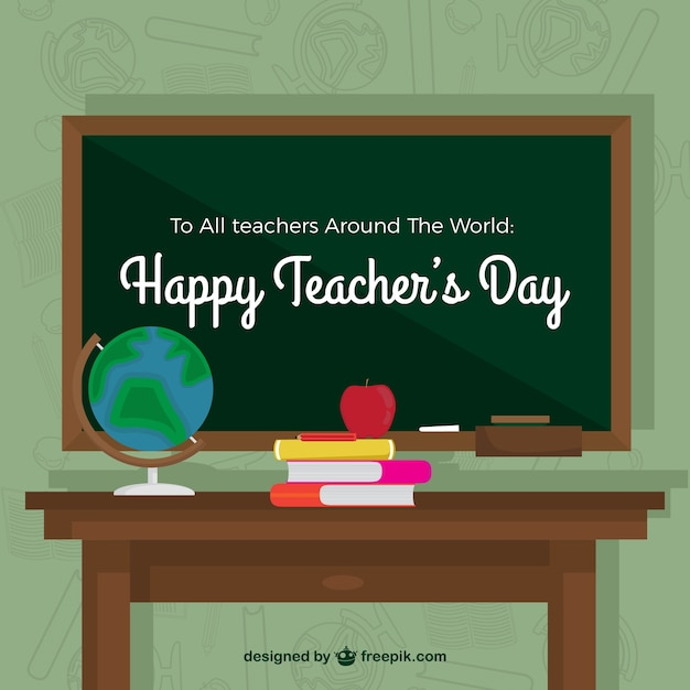 Teacher wallpaper and slate