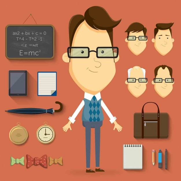 Teacher with complements