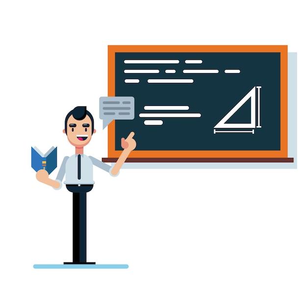 Учитель Premium векторы