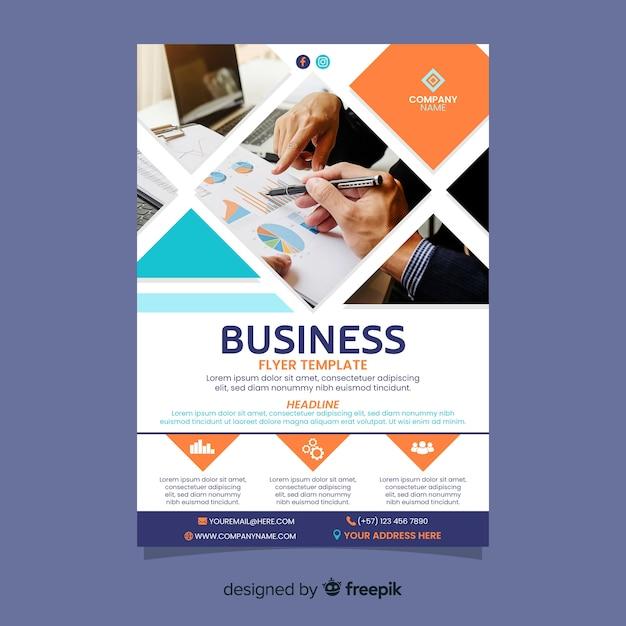 Team work business success template Free Vector