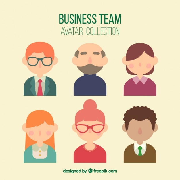 Teamwork avatar collection