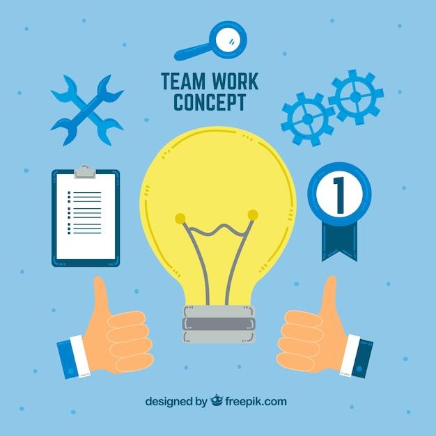 Teamwork, bulb