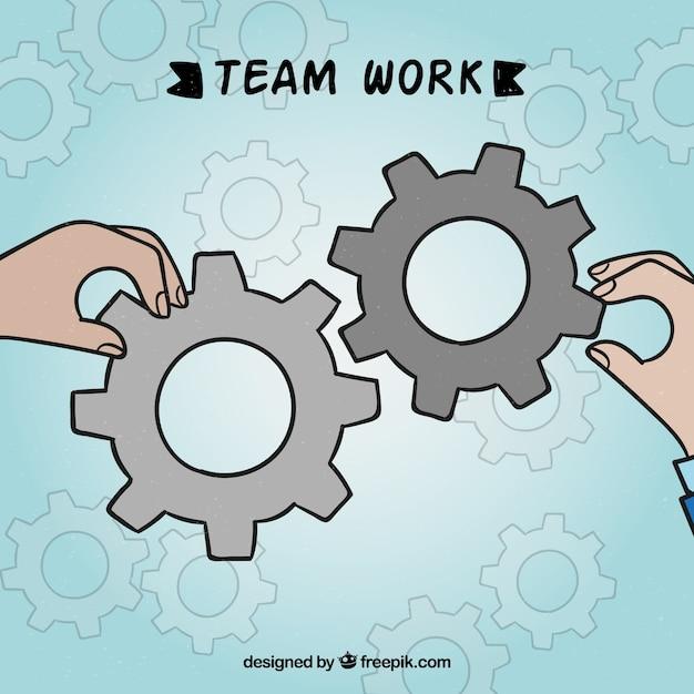 Teamwork, gears