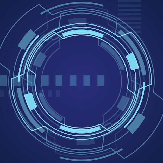 Technologic background design