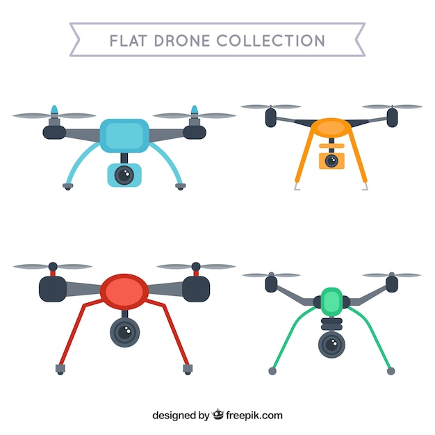 Technological pack of modern drones