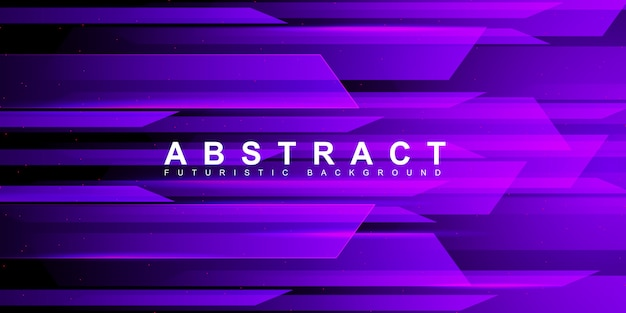 Технология фон красочный неоновый фиолетовый скорость света Premium векторы