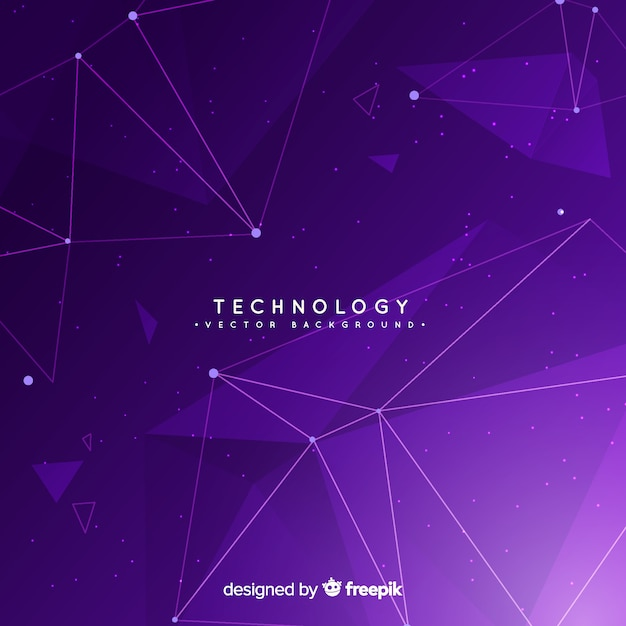Technology background Free Vector