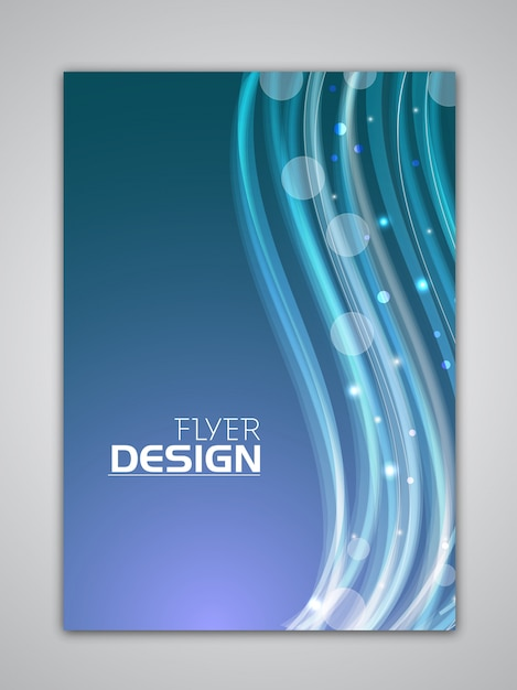 Technology Brochure Template Brochure Template Color Vector Free - Technology brochure template