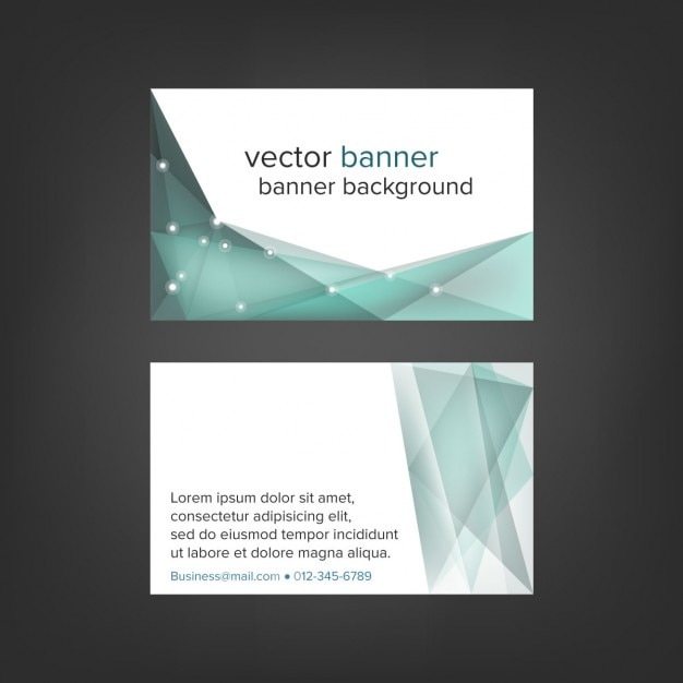 Technology business card vector free download technology business card free vector reheart Gallery